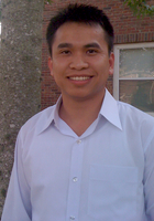 A photo of Nam who is one of our Math tutors in Athens