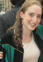 A photo of Hannah who is one of our English tutors in Bryan