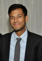 A photo of Akash who is one of our History tutors in Washington