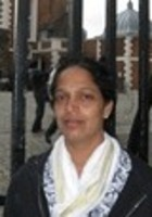 A photo of Viji who is one of our Biology tutors in Watauga