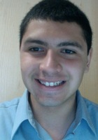 A photo of Roberto who is one of our Economics tutors in East Amherst