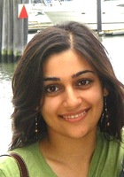 A photo of Nida who is one of our English tutors in Taylor