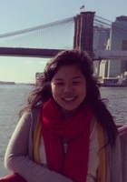 A photo of Hana who is one of our Literature tutors in East Point