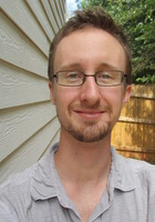 A photo of Chris who is one of our Writing tutors in College Park
