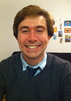 A photo of David who is one of our ASPIRE tutors in Allston