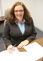 A photo of Loretta who is one of our Writing tutors in College Park