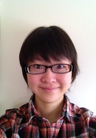 A photo of Tiantian who is one of our tutors in Franklin