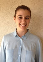 A photo of Vivien who is one of our German tutors in Zionsville