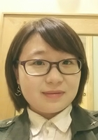 A photo of Zheng who is one of our Math tutors in North Chicago