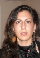 A photo of Neda who is one of our Math tutors in Wheeling