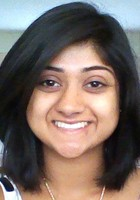 A photo of Avni who is one of our Science tutors in West Falls