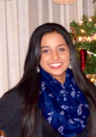 A photo of Akarsha who is one of our HSPT tutors in Niagara County