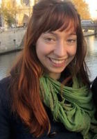A photo of Ariel who is one of our French tutors in South Valley