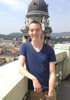 A photo of Taylor who is one of our German tutors in Gloucester