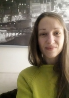 A photo of Ludmila who is one of our French tutors in Framingham