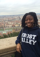 A photo of Oyinkansola who is one of our French tutors in Depew
