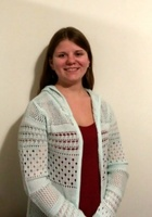 A photo of April who is one of our Pre-Calculus tutors in Helderberg