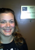 A photo of Nicole who is one of our Reading tutors in Tinley Park