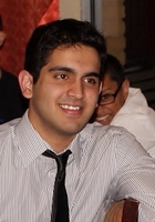 A photo of Muhammad Salik who is one of our Computer Science tutors in Allen