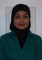 A photo of Syeda who is one of our Biology tutors in Michigan Center