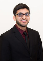 A photo of Aayush who is one of our HSPT tutors in Farmington Hills