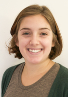A photo of Abby who is one of our French tutors in Fall River
