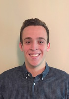 A photo of Max who is one of our Writing tutors in McHenry