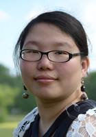 A photo of Jia who is one of our tutors in Jamestown