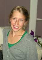 A photo of Emma who is one of our English tutors in Mile Square