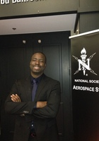 A photo of Ousmane who is one of our ASPIRE tutors in Houston
