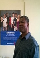 A photo of Komla who is one of our French tutors in University at Albany