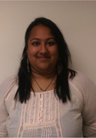 A photo of Rithambara who is one of our ACT tutors in New York